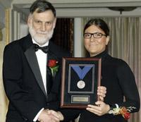Diana Lados Receives ASM Silver Medal